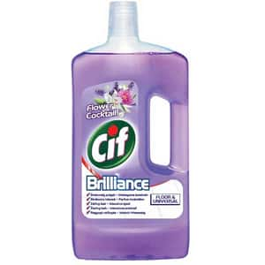 Solutie CIF Podele si Detergent Universal Flower, 1l