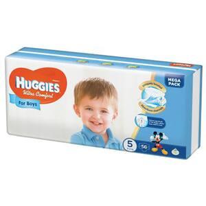 Scutece HUGGIES Ultra Confort nr 5, Baiat, 12 - 22 kg, 56 buc
