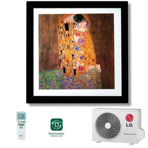 Aer conditionat LG Artcool Gallery A12FR, 12000 BTU, A++/A+, alb