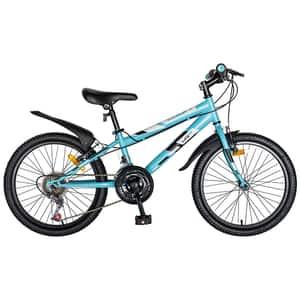 "Bicicleta copii LIFE A2030L, 20"", albastru-alb"