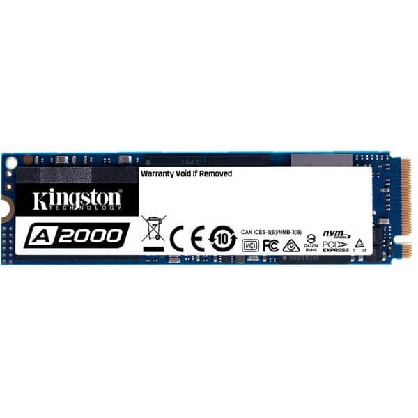 Solid-State Drive (SSD) KINGSTON A2000, 500GB, PCI Express x4, M.2, SA2000M8/500G