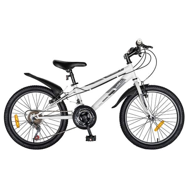 "Bicicleta copii LIFE A2030L, 20"", alb-negru"