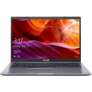 """Laptop ASUS A509FA-BQ366, Intel Core i7-8565U pana la 4.6GHz, 15.6"""" Full HD, 8GB, SSD 256GB, Intel UHD Graphics 620, Endless, gri"""