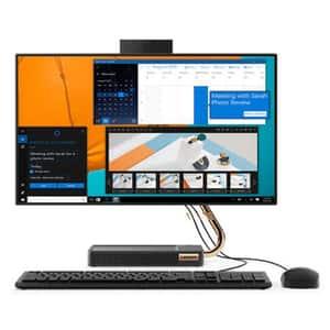 "Sistem PC All in One LENOVO IdeaCentre A540-24ICB, Intel Core i7-9700T pana la 4.3GHz, 23.8"" Full HD, 16GB, 1TB + SSD 256GB, AMD Radeon RX 540X 2GB, Free DOS, negru"