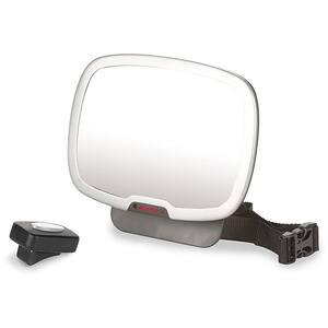 Oglinda retrovizoare cu lumina DIONO D60342, negru-gri