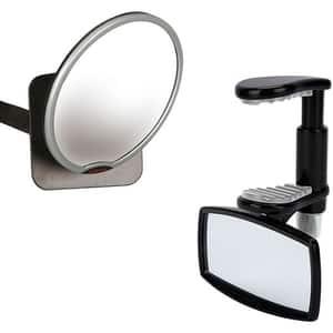 Set oglinzi retrovizoare DIONO Easy View si See Me Too D60343, negru-gri