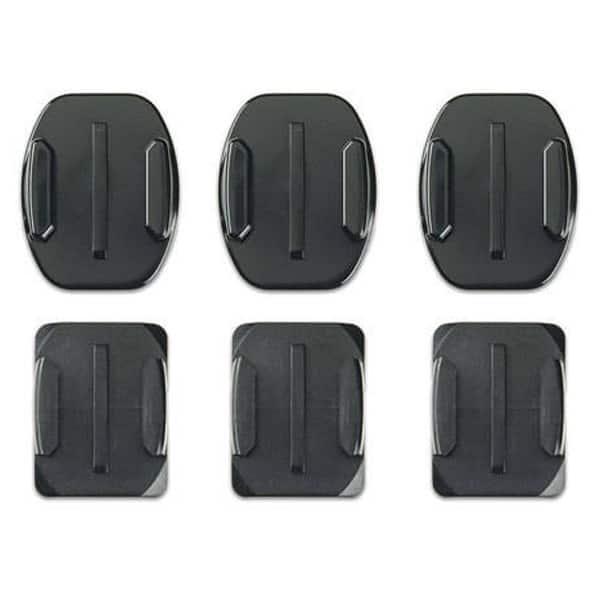 Kit suporturi adezive GOPRO AACFT-001, negru