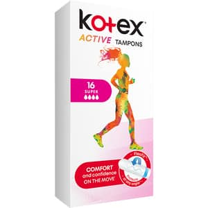 Tampoane KOTEX Active Super, 16buc