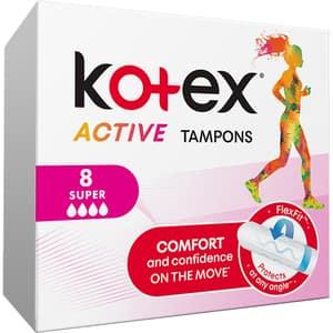 Tampoane KOTEX Active Super, 8buc