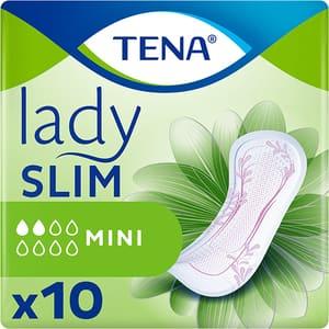 Absorbante incontinenta TENA Lady Slim Mini, 10 buc