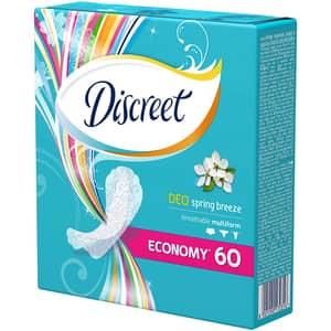 Protej-slip DISCREET Deo Spring Breeze, 60buc