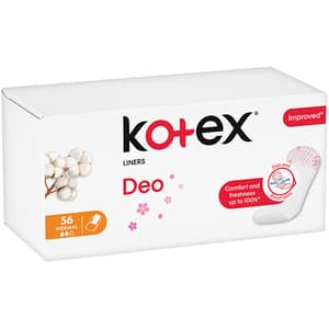 Protej-slip KOTEX Deo Normal, 56buc