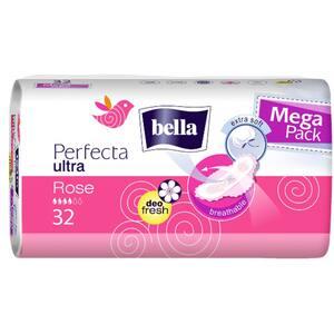 Absorbante BELLA Perfecta Rose, 32 buc