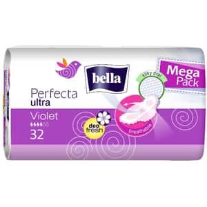 Absorbante BELLA Perfecta Violet, 32 buc