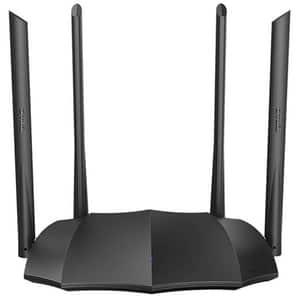 Router Wireless Gigabit TENDA AC8, Dual Band 300 + 867 Mbps, negru