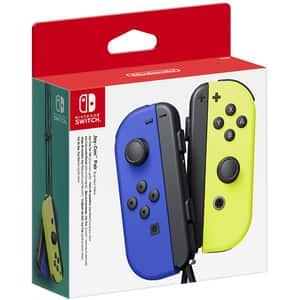 Pereche Joy-Con NINTENDO Switch, blue-neon yellow