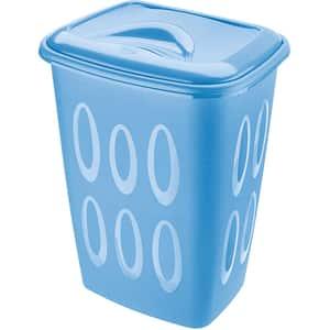 Cos pentru rufe TONTARELLI, plastic, 45 L, albastru