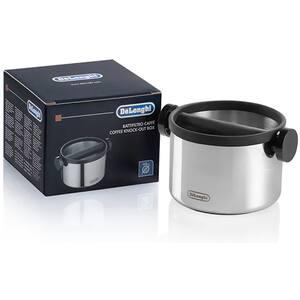 Container pentru zatul de cafea DE LONGHI DLSC062, argintiu-negru