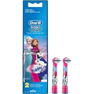Rezerve periuta de dinti electrica pentru copii Oral-B Frozen EB10-2, 2 buc