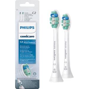 Rezerve periuta de dinti electrica PHILIPS Sonicare C2 Optimal Plaque Defence  HX9022/10, 2buc