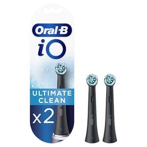 Rezerve periuta de dinti electrica ORAL-B iO Ultimate Clean Black 2CTs, 2buc