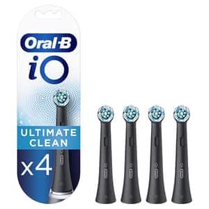 Rezerve periuta de dinti electrica ORAL-B iO Ultimate Clean Black 4CTs, 4buc