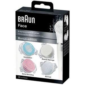 Rezerva perie faciala BRAUN Face SE80-M, 4 bucati