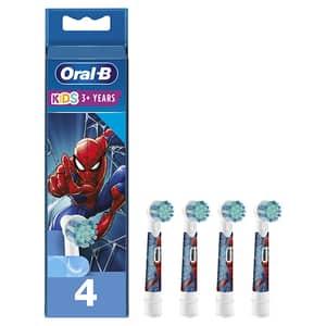 Rezerve periuta de dinti electrica pentru copii ORAL-B Spiderman, 4buc