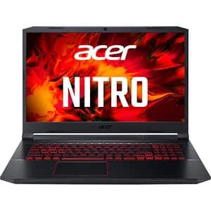 "Laptop ACER Nitro 5 AN517-41-R0XH, AMD Ryzen 9 5900HX pana la 4.6GHz, 15.6"" QHD, 32GB, SSD 1TB, NVIDIA GeForce RTX 3080 8GB, Free DOS, negru"