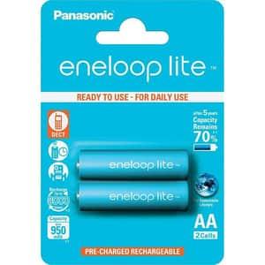 Acumulatori PANASONIC Eneloop Lite LR6/AA, 950mAh, 2 bucati