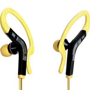 Casti PROMATE Snazzy, Cu Fir, In-ear, Microfon, galben