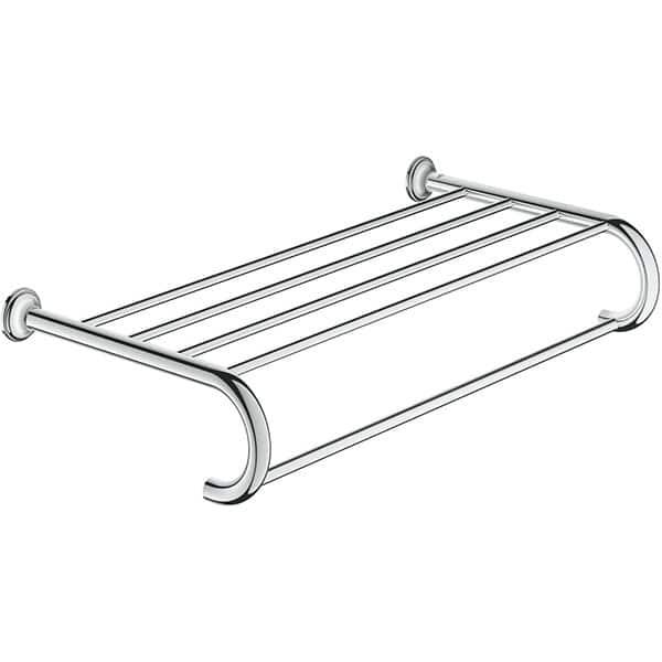 Suport prosop multiplu GROHE Essentials Authentic 40660001, 58.6cm, argintiu