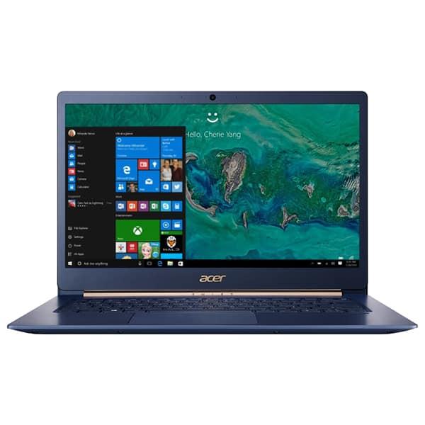 "Laptop ACER Swift 5 SF514-53T-53SN, Intel® Core™ i5-8265U pana la 3.9GHz, 14.0"" Full HD Touch, 8GB, SSD 512GB, Intel® UHD Graphics 620, Windows 10 Home"