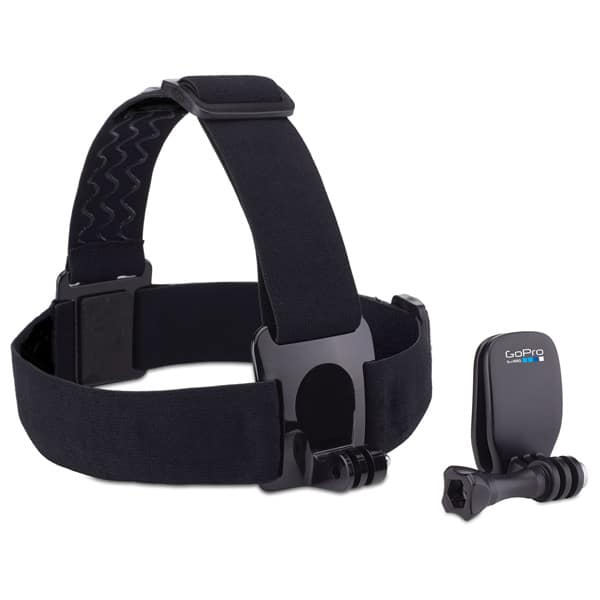 Sistem prindere de cap, GOPRO Head Strap + QuickClip ACHOM-001, negru
