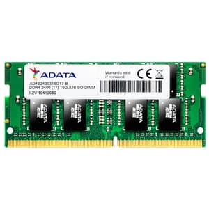 Memorie laptop ADATA 8GB DDR4, 2400MHz, CL17, AD4S240038G17-S
