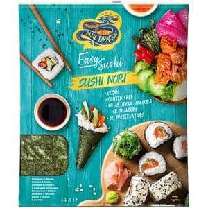 Foi de alge pentru Sushi Nori BLUE DRAGON, 11g, 3 bucati