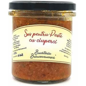 Sos pentru paste cu ciuperci BUCATARIA BRANCOVENEASCA, 340ml