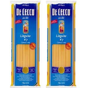 Paste Linguine DE CECCO, 1kg, 2 bucati