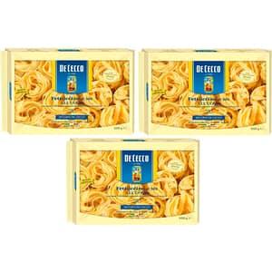 Paste cu ou Fettuccine Matassine DE CECCO, 250g, 3 bucati