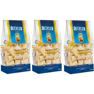 Paste Paccheri DE CECCO, 500g, 3 bucati