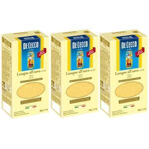 Paste cu ou Lasagna Timballo DE CECCO, 500g, 3 bucati