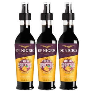 Otet balsamic de modena cu aroma de portocale spray DE NIGRIS, 250ml, 3 sticle