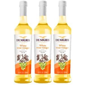 Otet din vin alb 6% DE NIGRIS, 500ml, 3 bucati
