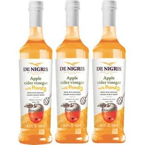 Otet din cidru de mere cu miere DE NIGRIS, 500ml, 3 bucati