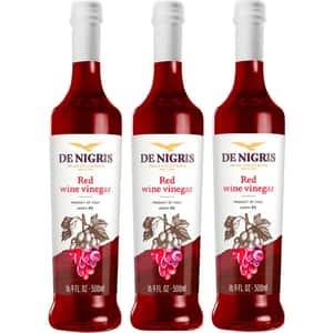 Otet din vin rosu 6% DE NIGRIS, 500ml, 3 bucati