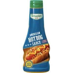 Sos mustar american hot dog DEVELEY, 250ml, 2 bucati