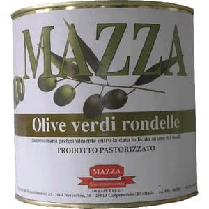 Masline verzi rondele MAZZA, 2600g