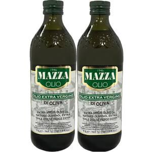 Ulei masline extrav MAZZA, 1l, 2 bucati