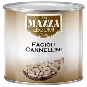 Fasole alba Cannelini MAZZA, 2500g