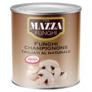 Ciuperci in sos natural MAZZA, 2400g